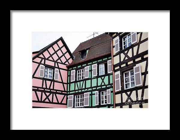 Colmar Framed Print featuring the photograph Colmar by LS Photography