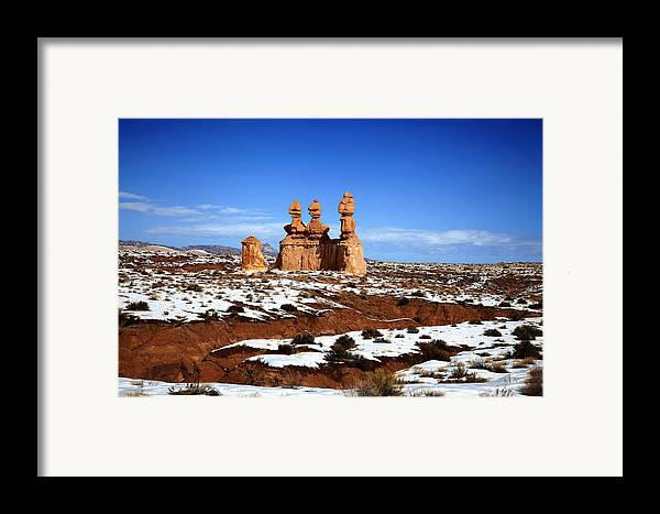 Goblin Valley State Park Framed Print featuring the photograph Goblin Valley by Mark Smith