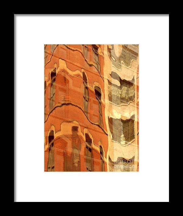 Abstract Framed Print featuring the photograph Abstract by Tony Cordoza