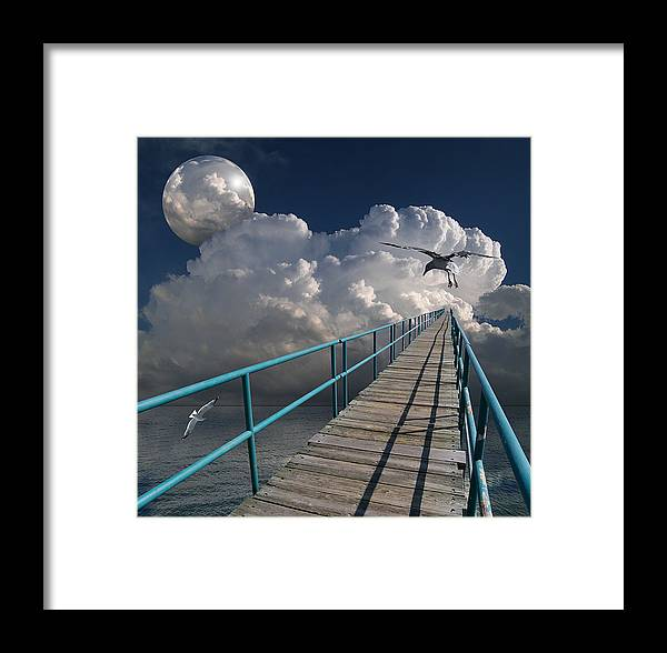 Bridge Framed Print featuring the photograph 1875 by Peter Holme III