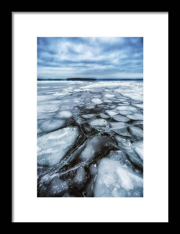 Canon Framed Print featuring the photograph Lake Winnipesaukee by Robert Clifford
