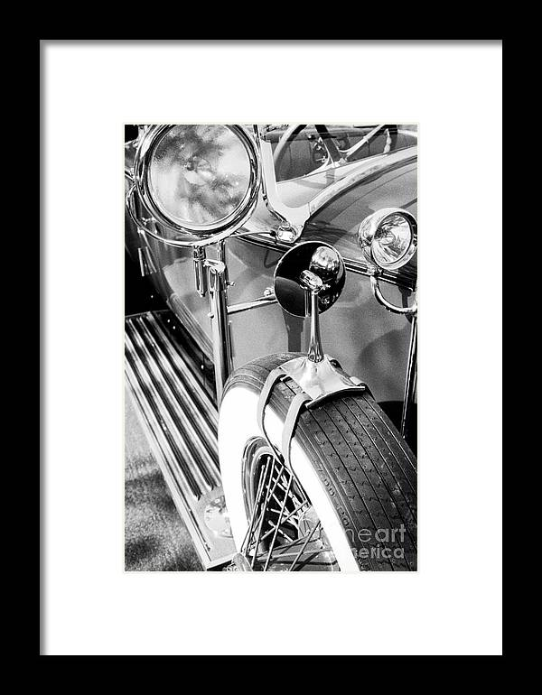 Rolls Royce Framed Print featuring the photograph 1907 Rr Silver Ghost - The 57 Millions Dollar Car by Paul W Faust - Impressions of Light