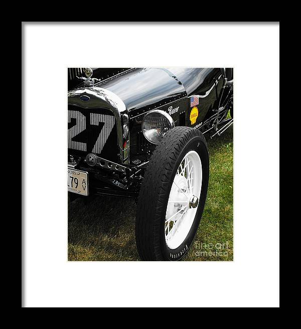 Ford Framed Print featuring the photograph 1920-1930 Ford Racer by Neil Zimmerman