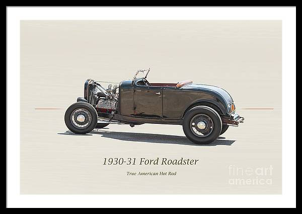1930-31 Ford 'True American Hot Rod' Roadster by Dave Koontz