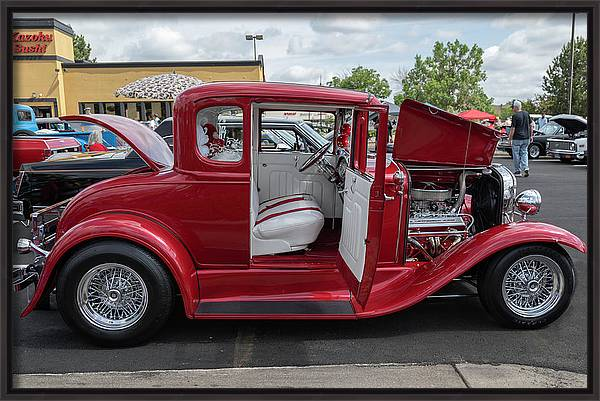1930 Model A Ford by Lorraine Baum