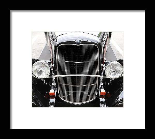 Ford Framed Print featuring the photograph 1932 Ford by Charles van Wagenen Jr