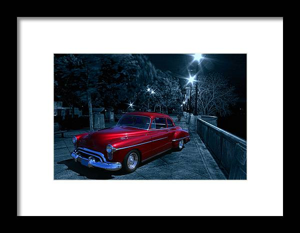 Old Car Framed Print featuring the photograph 1950 Olds Ninety-eight by Michael Cleere