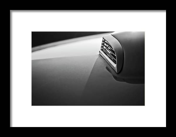 1957 Ford Thunderbird Framed Print featuring the photograph 1957 Ford Thunderbird Scoop 2 by Jill Reger