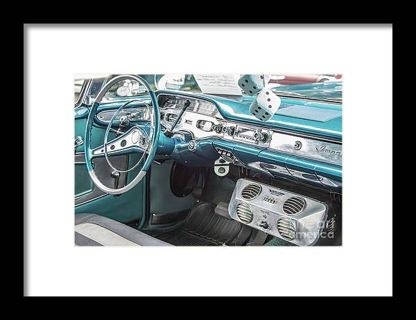 Chevrolet Framed Print featuring the photograph 1958 Chevrolet Impala - 5 by David Bearden