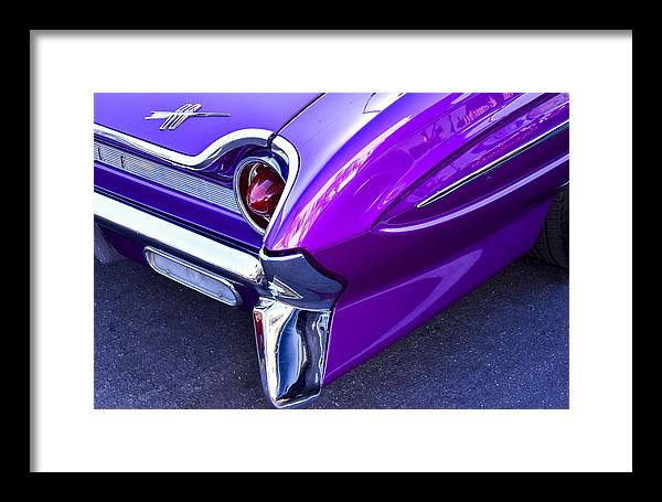 1961 Oldsmobile 88 Framed Print featuring the photograph 1961 Oldsmobile 88 by Robert Grant