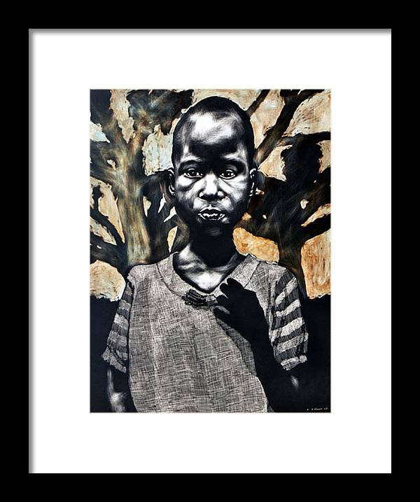 Framed Print featuring the mixed media 1962 by Chester Elmore