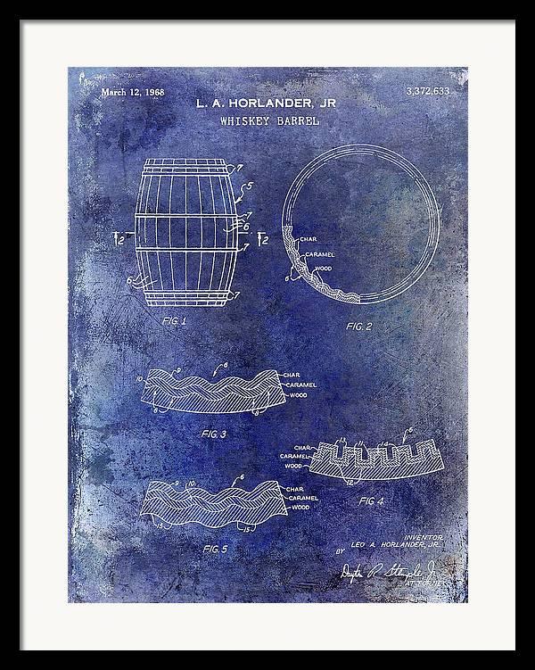 1968 Whiskey Barrel Patent Blue by Jon Neidert