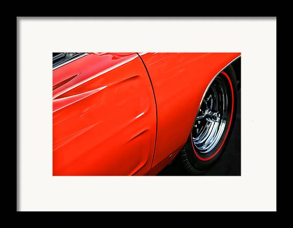 Hemi Framed Print featuring the photograph 1969 Dodge Charger Rt by Gordon Dean II