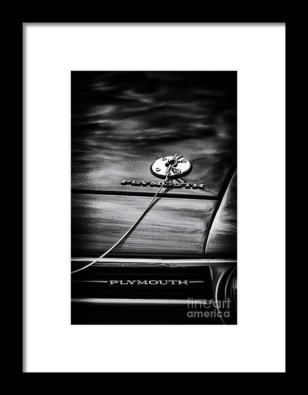 1970 Plymouth Framed Print featuring the photograph 1970 Plymouth by Tim Gainey
