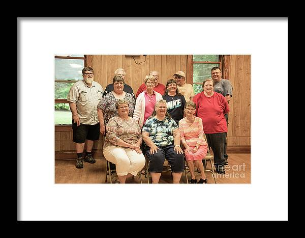 Framed Print featuring the photograph 1st Cousins by Cathy Misze