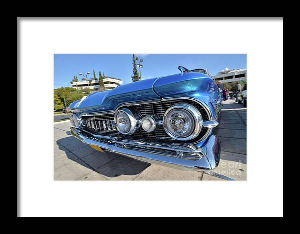 Classic Framed Print featuring the photograph 1959 Oldsmobile Dynamic 88 by George Atsametakis