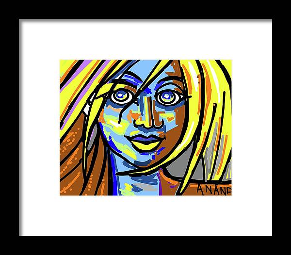 Abstract-2 Framed Print featuring the digital art Abstract-2 by Anand Swaroop Manchiraju
