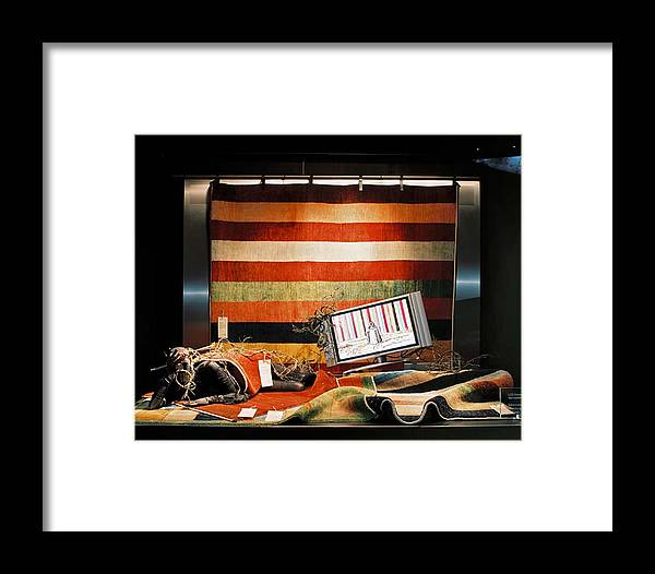 Berlin Framed Print featuring the photograph Africanqueen by Laurent Sylla