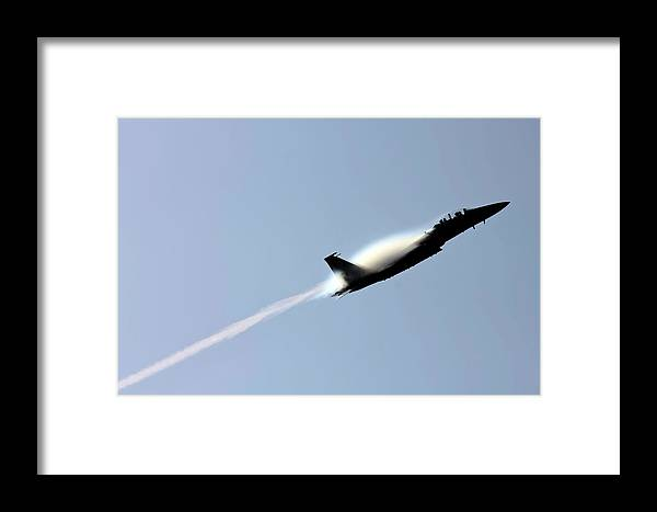 Planes Framed Print featuring the pyrography Air Show by Michael Dillard