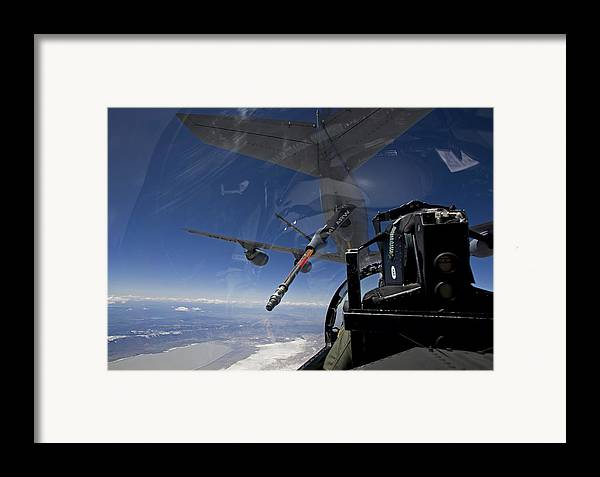 Color Image Framed Print featuring the photograph An F-15 Eagle Pulls Into Position by HIGH-G Productions