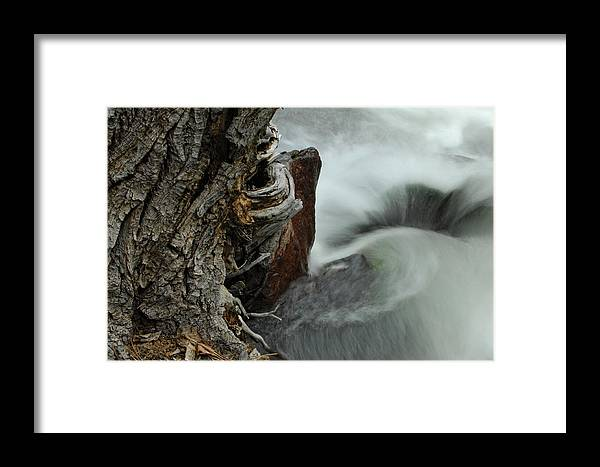 Water Framed Print featuring the photograph Around The Bend by Donna Blackhall