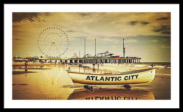 Atlantic City by Library Of Congress