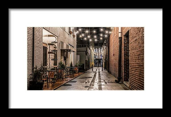 Downtown Framed Print featuring the photograph Bank Street Downtown Bristol by Dion Wiles