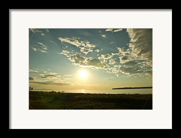 Framed Print featuring the photograph Birch Bay by JK Photography