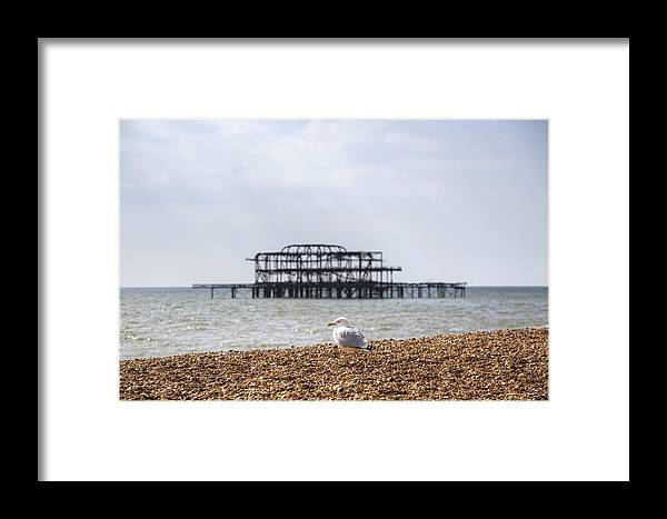 West Pier Framed Print featuring the photograph Brighton 2 by Joana Kruse