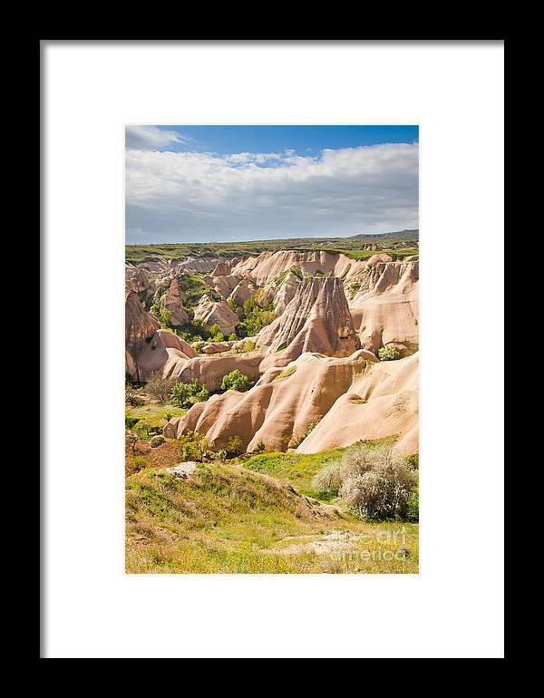 Capadocia Framed Print featuring the photograph Cappadocia by Gabriela Insuratelu