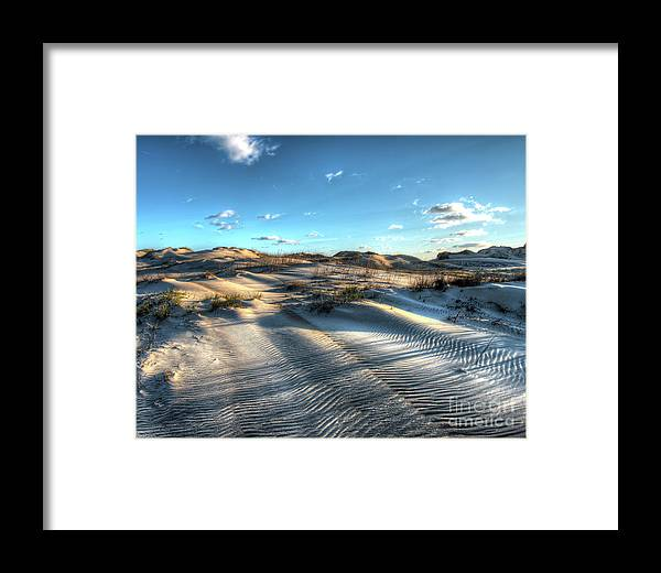 Currituck Beach Framed Print featuring the photograph Coquina Beach, Cape Hatteras, North Carolina by Greg Hager