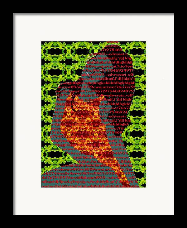 Framed Print featuring the digital art Corrupted by Bharat Gothwal