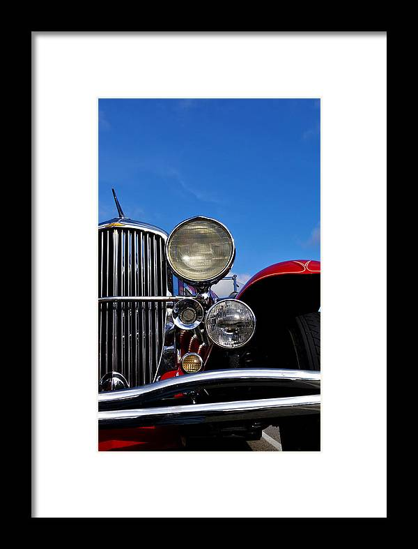 Vintage Framed Print featuring the photograph Duesenberg by Tim Nyberg