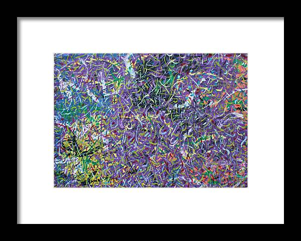Color And Movement Framed Print featuring the painting Felice by Biagio Civale