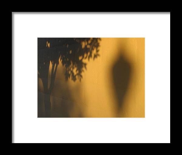 Film Noir Alfred Hitchcock Shadow Of A Doubt 1943 1 Shadow Wall Casa Grande Arizona 2004 Framed Print featuring the photograph Film Noir Alfred Hitchcock Shadow Of A Doubt 1943 1 Shadow Wall Casa Grande Arizona 2004 by David Lee Guss