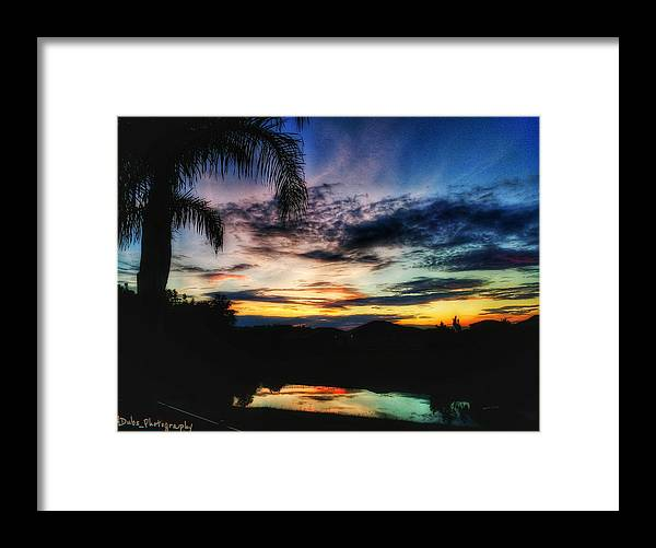 Sunrise Framed Print featuring the photograph Florida Sunrise by Allen Williamson