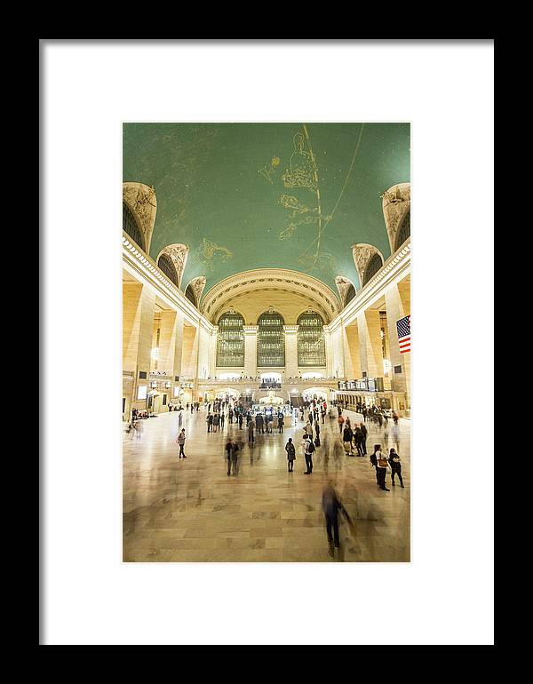 Nyc Framed Print featuring the photograph Grand Central Terminal by Robert J Caputo