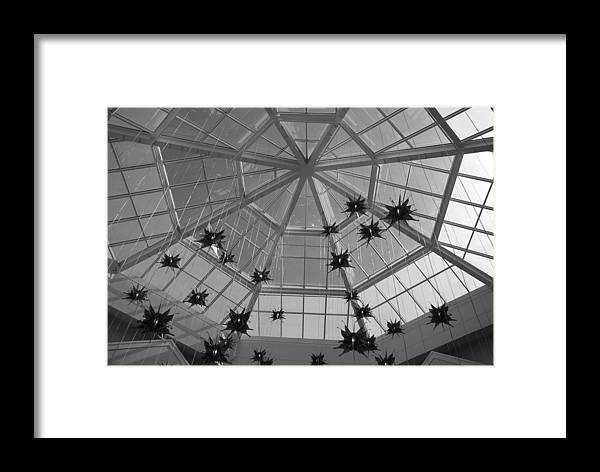 Black And White Framed Print featuring the photograph Hanging Butterflies by Rob Hans