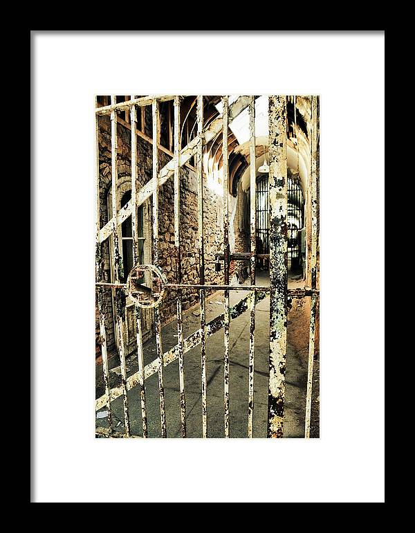 Eastern Framed Print featuring the photograph Hospital Wing Texture by JAMART Photography