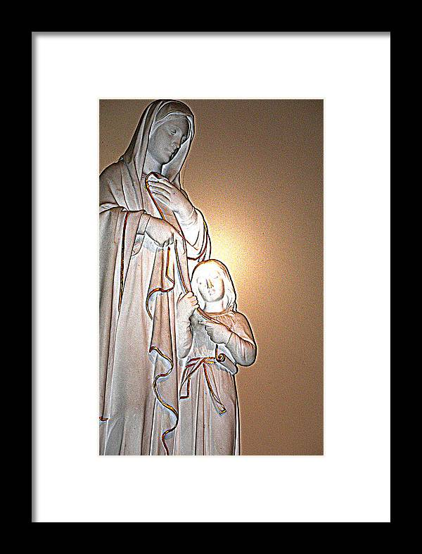 Jesus Framed Print featuring the photograph Immanuel by Terence McSorley