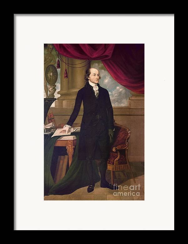 1782 Framed Print featuring the photograph John Jay (1745-1829) by Granger