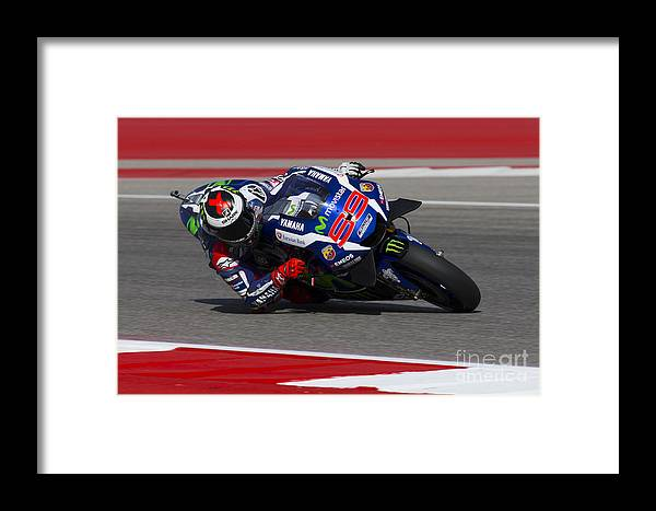 Jorge Framed Print featuring the photograph Jorge Lorenzo by Ara Ashjian