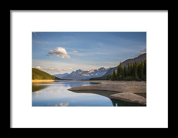 Alberta Framed Print featuring the photograph Kananaskis Lakes by Brandon Smith