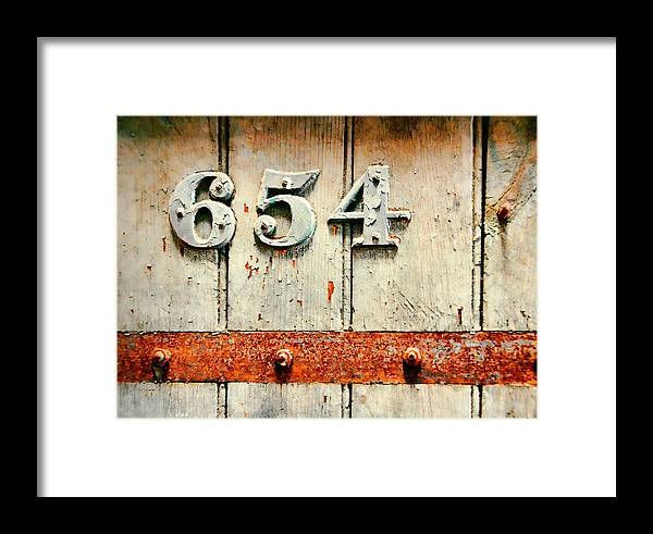 Eastern Framed Print featuring the photograph Knock Twice by JAMART Photography