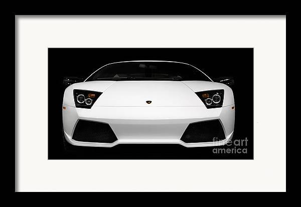Lamborghini Framed Print featuring the photograph Lamborghini Murcielago Lp640 Coupe by Oleksiy Maksymenko