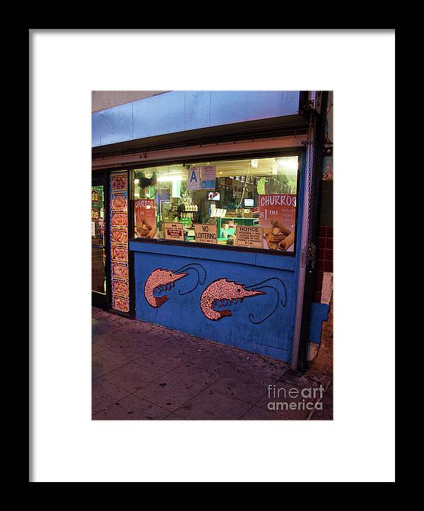 Los Angeles Framed Print featuring the photograph Los Angeles Palace Sign by Gregory Dyer