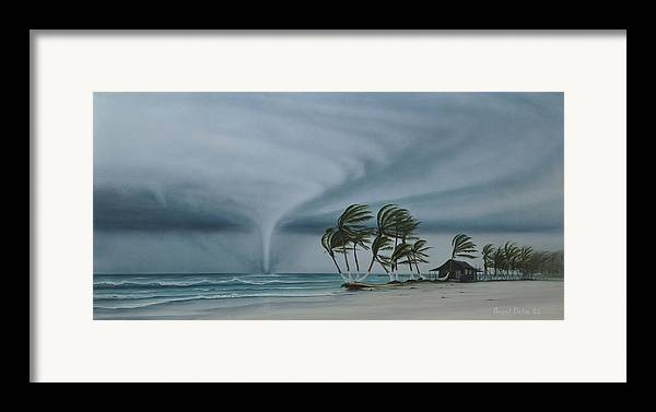 Framed Print featuring the painting Mahahual by Angel Ortiz