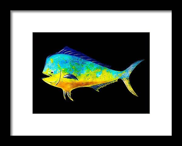 Sail Framed Print featuring the photograph Mahi Mahi by Barry Knauff