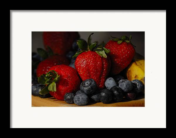 Fruit Framed Print featuring the photograph Morning Fruit by Ed Zirkle