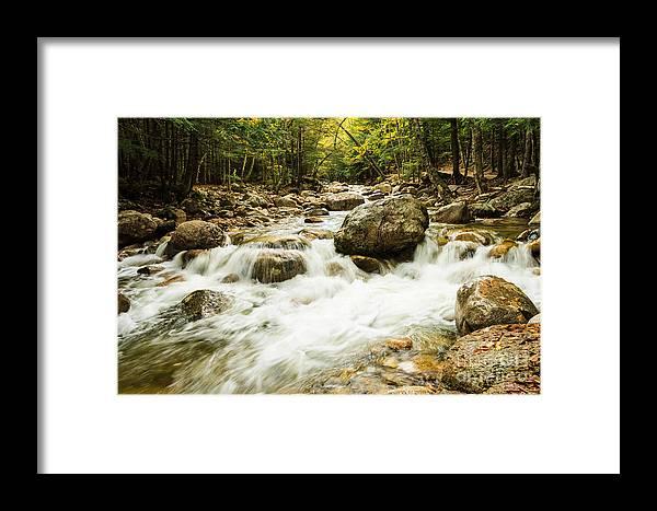 Kanacamangous Highway Framed Print featuring the photograph Mountain Stream by Terri Morris